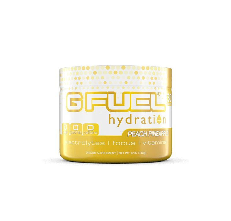 G FUEL Hydration – Peach Pineapple Tub