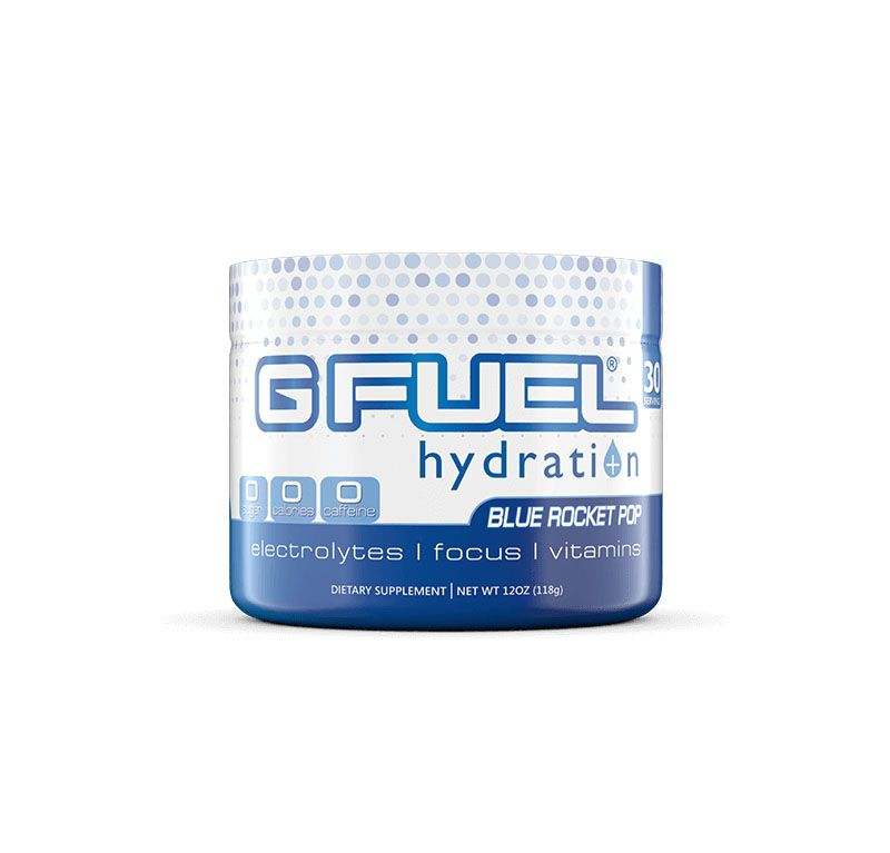 G FUEL Hydration – Blue Rocket Pop Tub